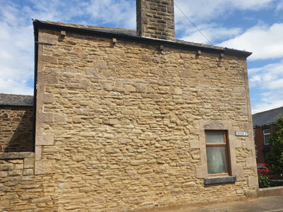 stone work pointing ribble valley